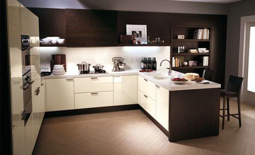Итальянская фабрика Scavolini представляет новую модель кухни - GLAM.